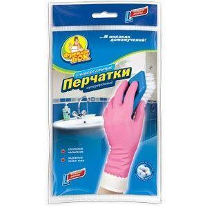 Изображение Перчатки для уборки  плотные   средние