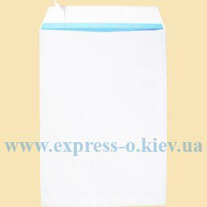 Изображение Конверт С4 самоклеящийся с лентой белый