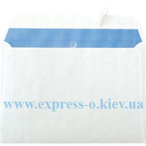 Изображение Почтовый конверт С6 самоклеящийся  с лентой белый