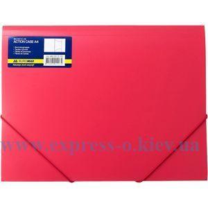Изображение Папка с резинками   пластиковая   арт.3913 красная