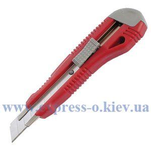Изображение Нож канцелярский Axent с металлическими направляющими, 18 мм