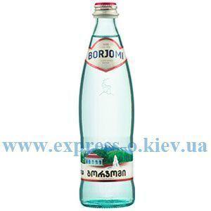 Изображение Вода минеральная Боржоми 0,5 л газированная стекло