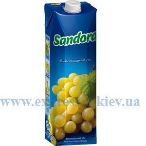 Изображение Сок Sandora   виноградный 0,95 л