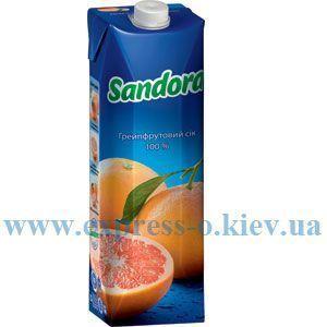 Изображение Сок Sandora   грейпфрутовый 0,95 л