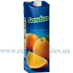 Изображение Сок Sandora  апельсиновый 0,95 л