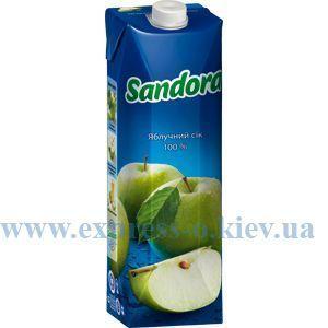 Изображение Сок Sandora  яблочный 0,95 л