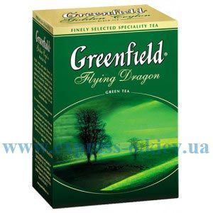 Изображение Чай Greenfield листовой зеленый Flying Dragon 100  г
