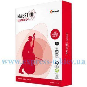 Изображение Бумага офисная Maestro STANDARD+ А4 80г/м2 500 листов